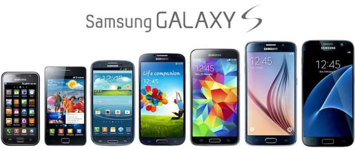 Geçmişten günümüze Samsung Galaxy S serisi!