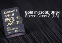 Kingston 64GB Microsdhc Class U3 UHS-I 90R/45W SDCG/64GB