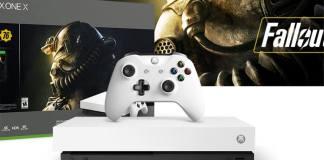 Beyaz Xbox One X