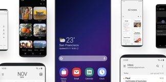 Galaxy S9 için Android 9.0 Pie