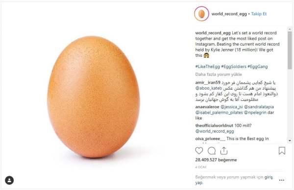 Instagram'daki en beğenilen fotoğraf şaşırttı