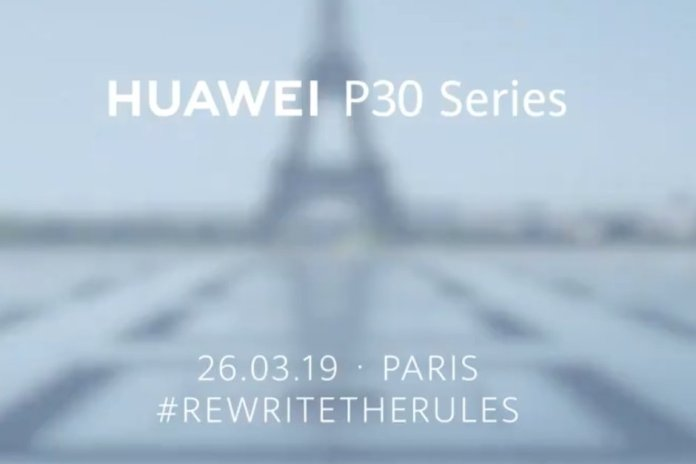 Huawei P30 tanıtım tarihi
