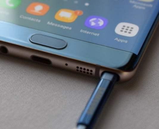 Galaxy Note 7 FE için Android Pie