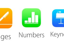 Pages, Numbers ve Keynote