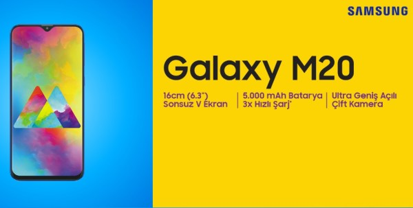 Samsung Galaxy M20 inceleme