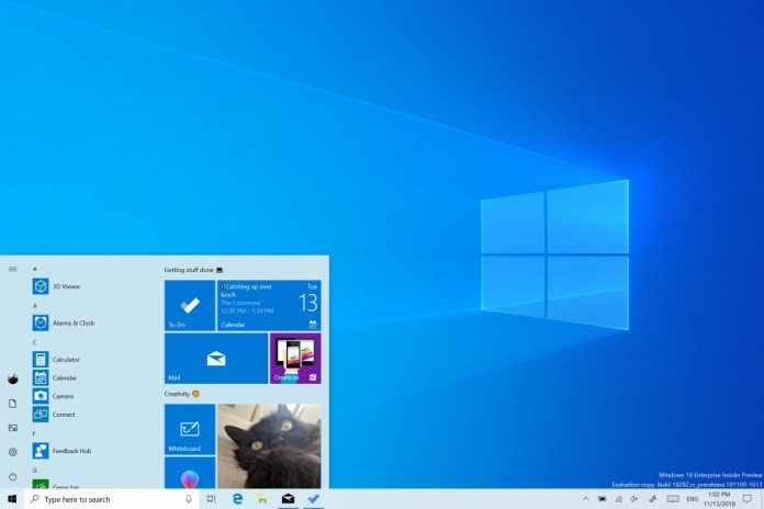 Windows 10 Build 18362.86