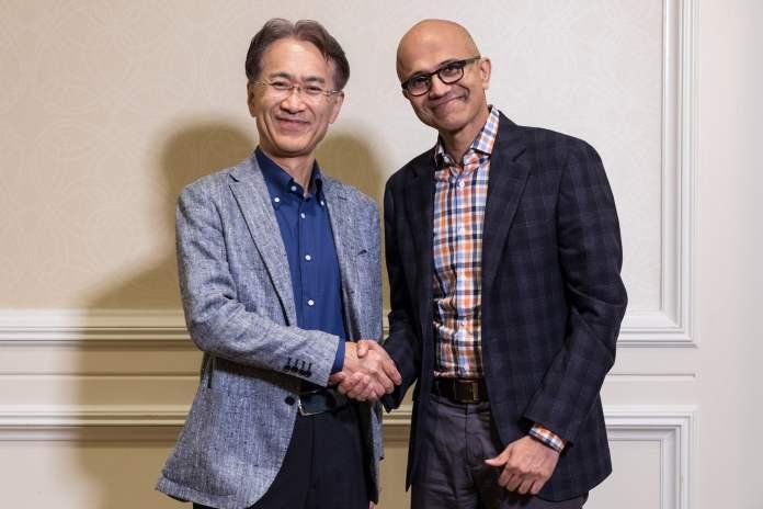 Sony ile Microsoft