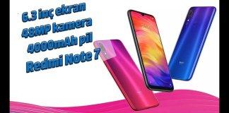 Redmi Note 7 inceleme