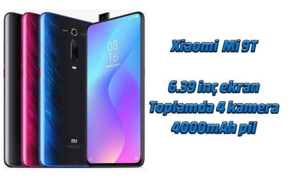 Xiaomi Mi 9T inceleme. Toplamda 4 kamera