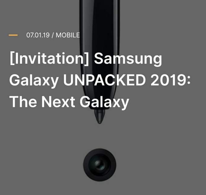 Galaxy Note 10 tanıtım tarihi
