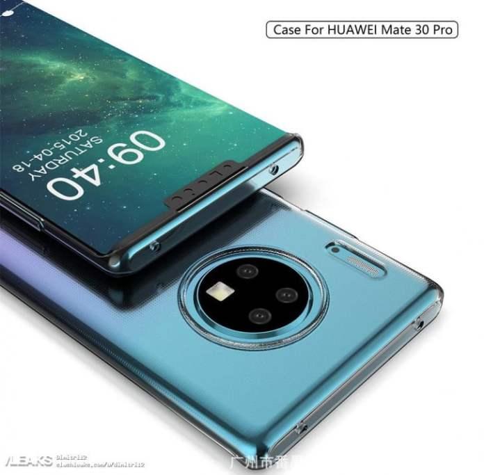 Huawei Mate 30 Pro tasarımı