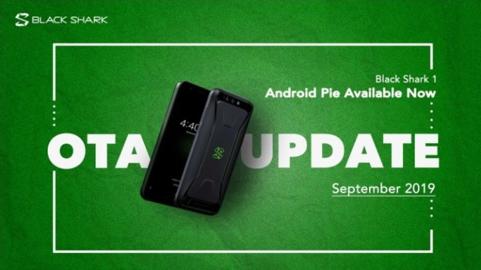 Black Shark Android Pie