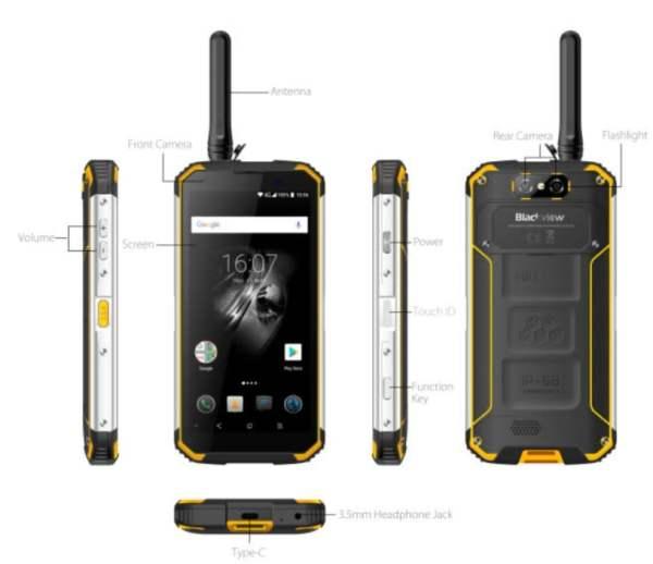 Kırılmayan, su geçirmeyen, her koşulda çalışabilen telefon: Blackview BV9500 Pro