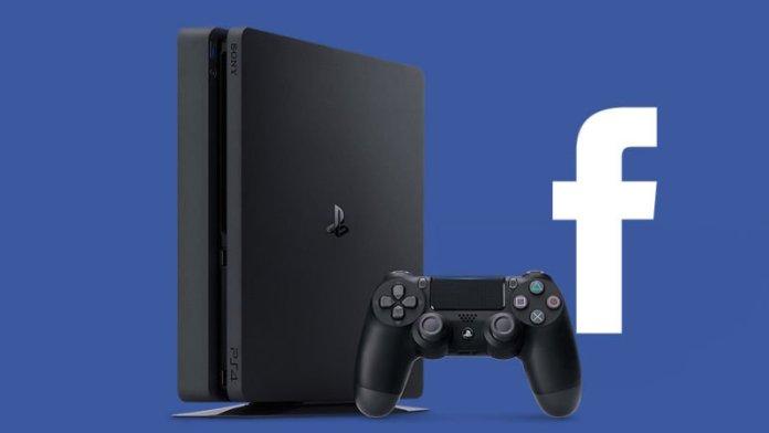 PlayStation 4 Facebook