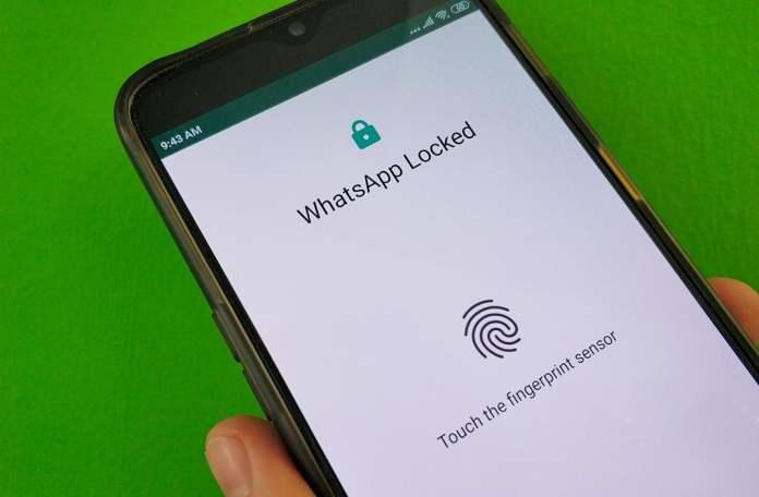 whatsapp parmak izi