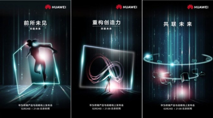 Huawei yeni katlanabilir telefonu