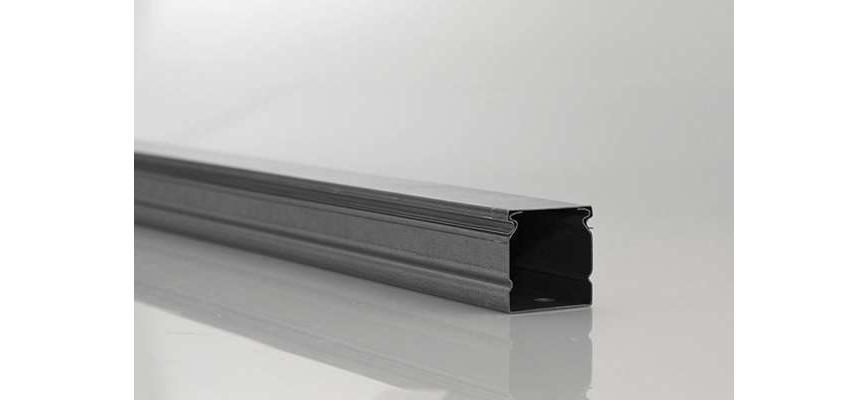 Kabel kanal SCOS® 20 x 13 mm Profi TV Kabelleiste Wand Boden PVC Länge wählbar