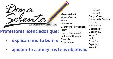 Explicações em Braga - Dona Sebenta