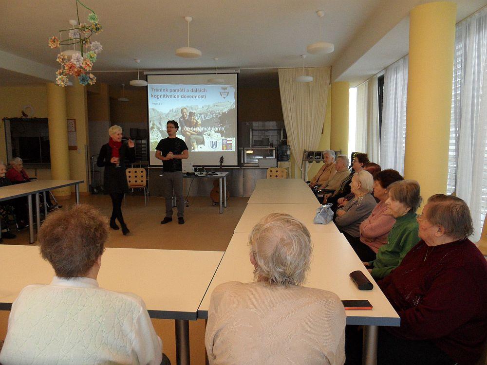 Projekt U3V v regionech zahájen v Domově pro seniory ve Skalici.