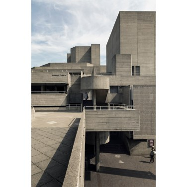 National theatre London - foto di Donato Locantore - brutalist