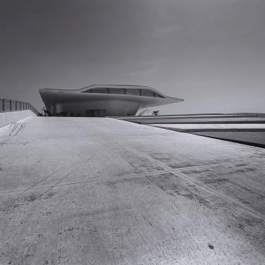 Salerno Maritime Terminal by Zaha Hadid, post-produzione in Photoshop   Foto di Donato Locantore