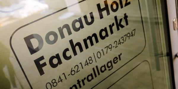 Zentrallager der Firma Donau Holz Ingolstadt