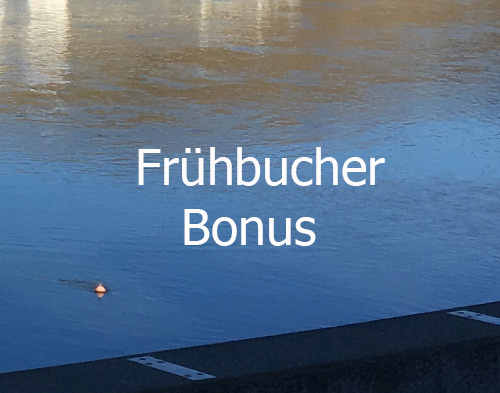 Frühbucher bonus