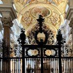 Schmiedeeisernes Gitter in St. Florian
