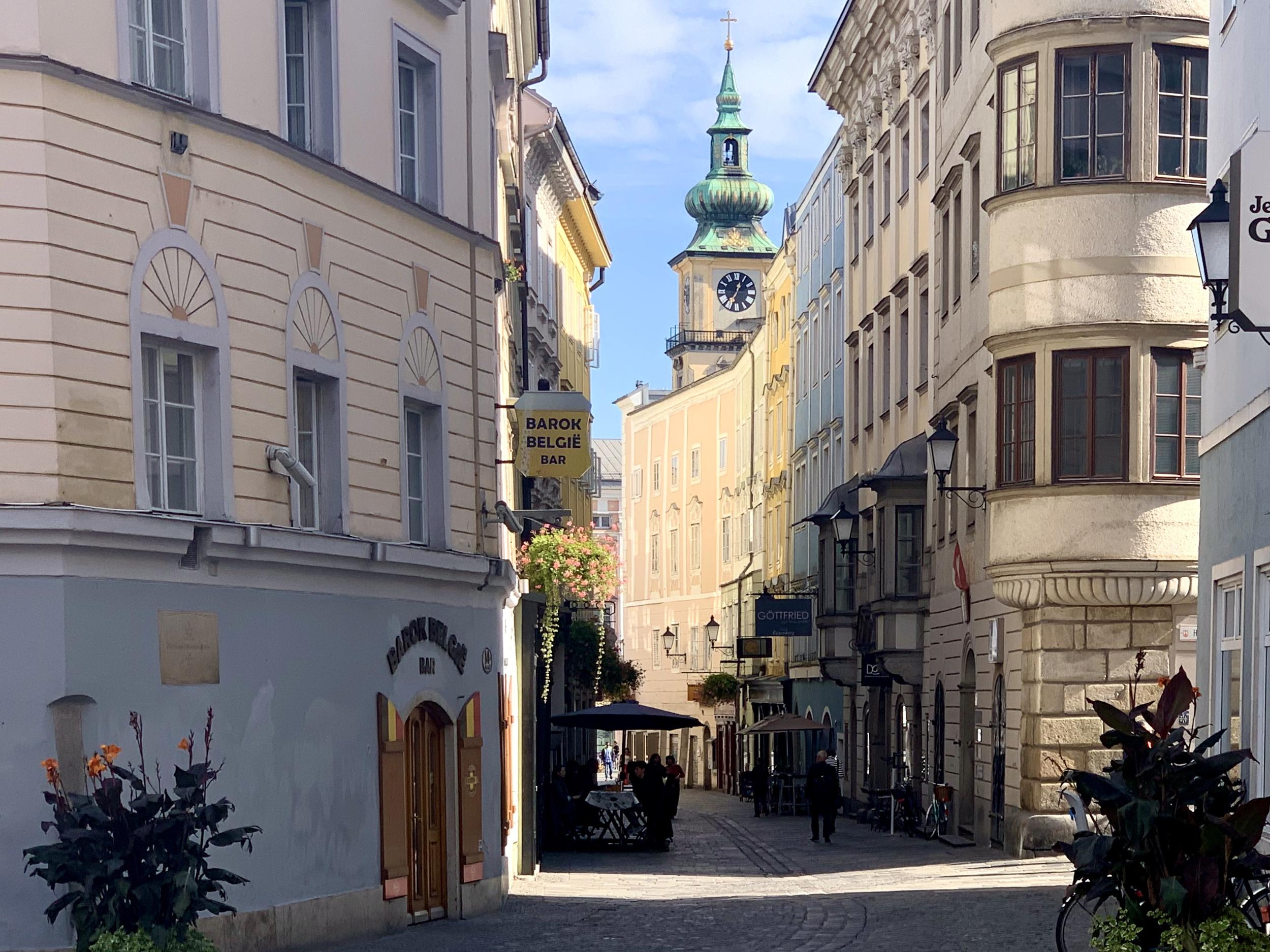 Gasthaus Kiener in Linz, in dem Mozart übernachtete
