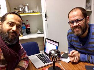 """Entrevista para el podcast de Fidel, """"el retrato sonoro""""."""