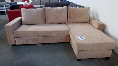 sofa chaise longue cama crema