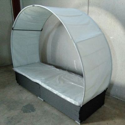 Outdoor Rattan Sun Bed - Verano