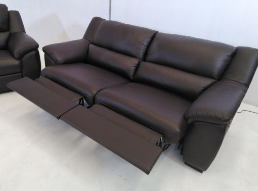 Sensational Brown Leather Sofa Set 3 Seater 2 Seater Leon Pdpeps Interior Chair Design Pdpepsorg
