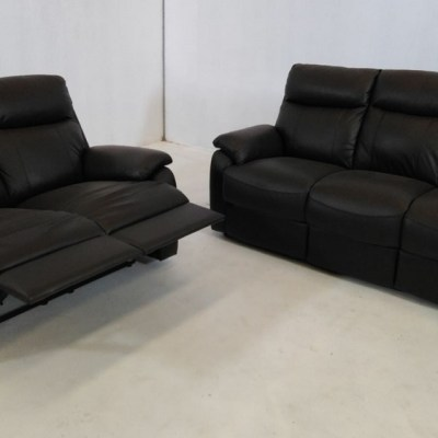 Leather Sofa Set - 3 Seater and 2 Seater - Manhattan