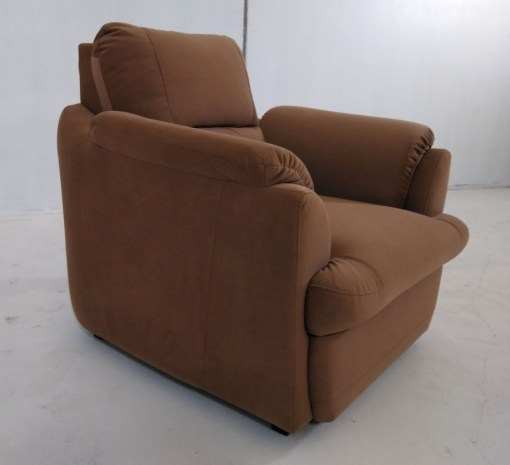 Right side. Brown Armchair - Sara