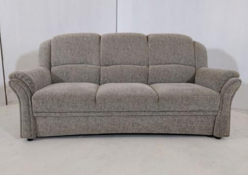 Классический трёхместный серый диван - Elegance