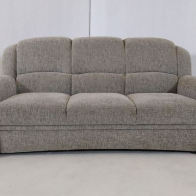 3 Seater Grey Sofa - Elegance