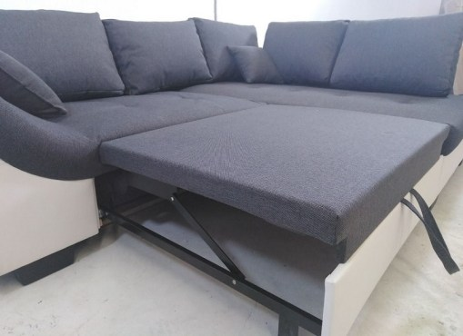 Pool Out Bed. Corner Sofa with Pull Out Bed - Carmen