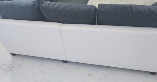 Back of the left side. Corner Sofa with Pull Out Bed - Carmen
