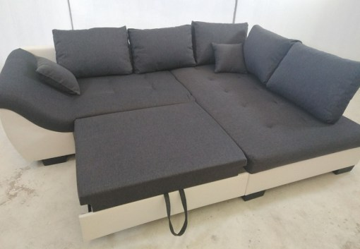 Sofá rinconero con cama extensible - Carmen