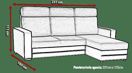 Sof chaise longue cama miami don baraton tienda de sof s colchones y muebles - Medidas de sofas chaise longue ...