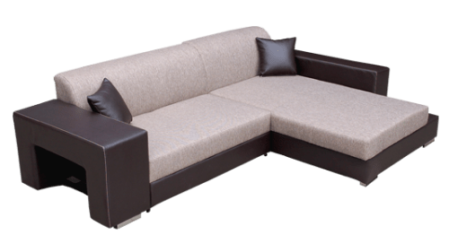 Sale. Chaise Longue Sofa Bed with Pouffe - Santa Monica