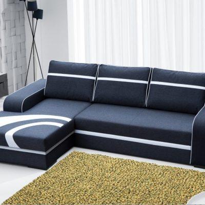 Sofá chaise longue izquierda cama con arcón - Bay