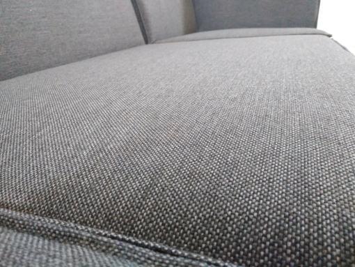 Textura de tela. Sofá de 3 plazas más puf - Modules