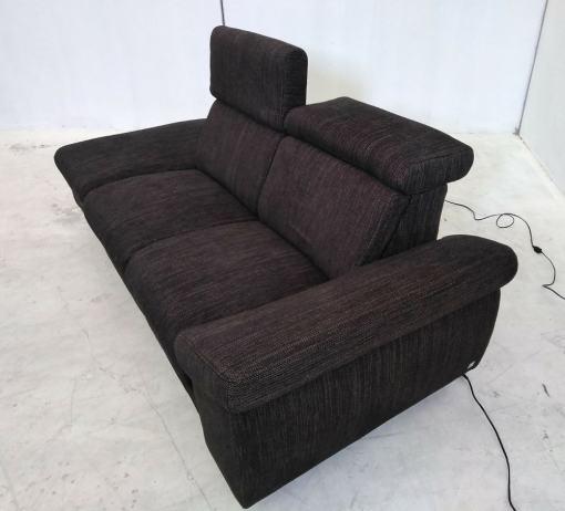 Reposacabezas reclinables. Sofá 2 plazas relax Hugo