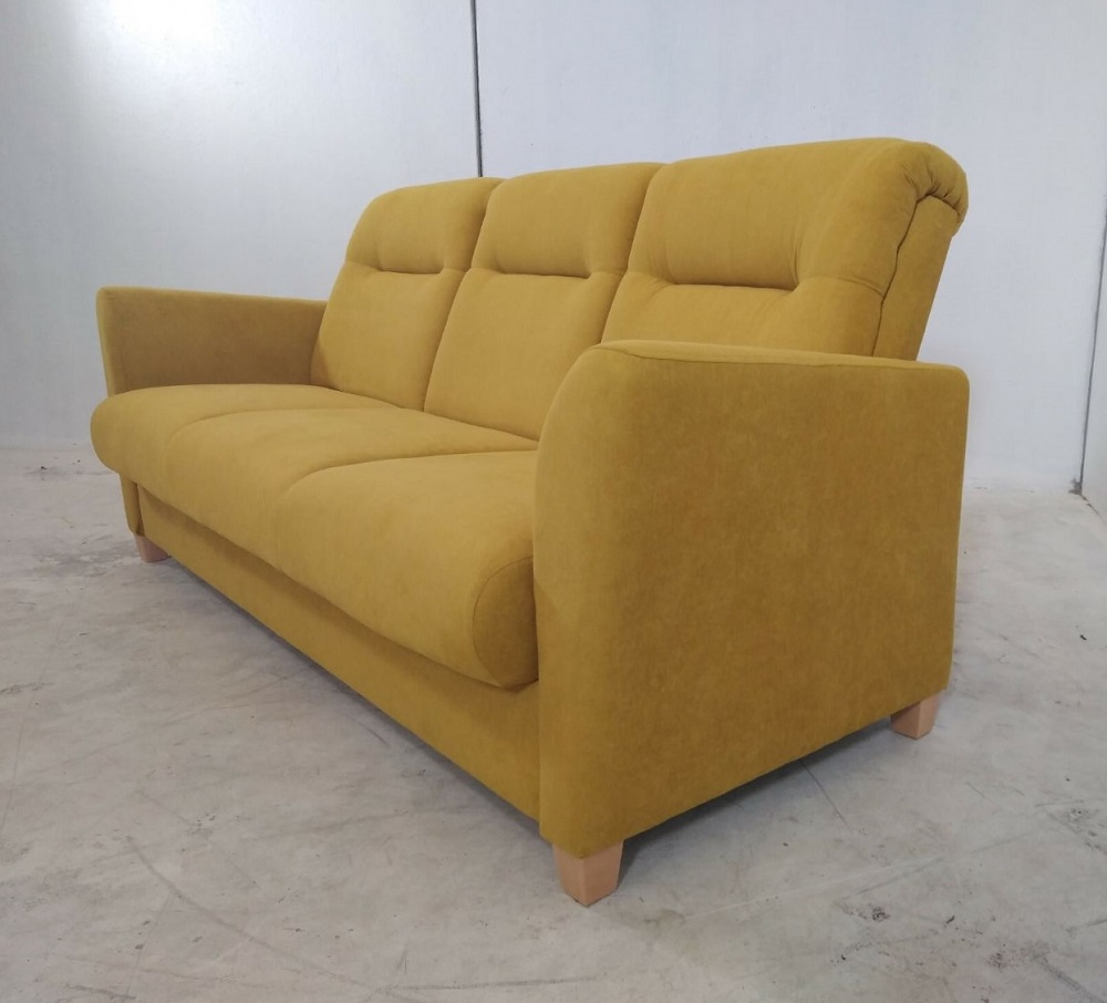 Comfortable folding 3 seater sofa isabel don baraton for Sofas muy comodos