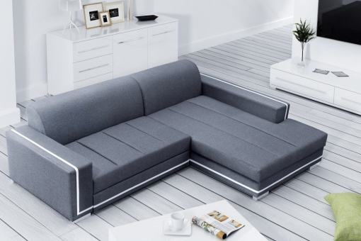 Sofa Bed with Spacious Chaise Longue (Right Corner) - Caicos