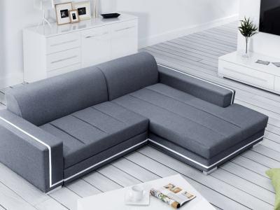 Sofá cama con chaise longue grande. Chaise longue derecha - Caicos