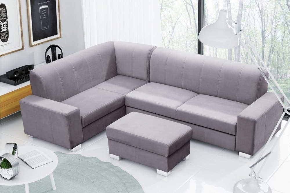 Sof cama rinconera 4 plazas con puf sardinia don for Sofa cama 4 plazas