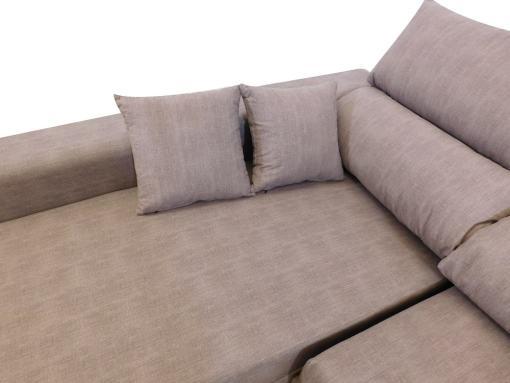 Cojines. Sofá con asientos deslizantes. - Gothenburg